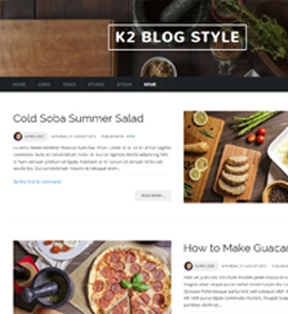 NTS KFive - K2's Blog Template